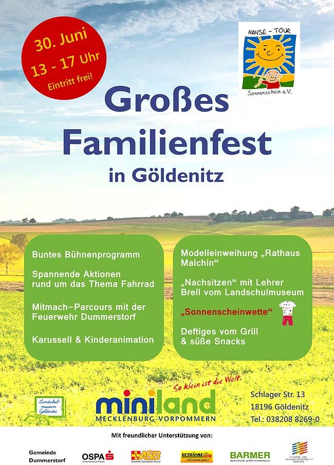 Familienfest in Göldenitz