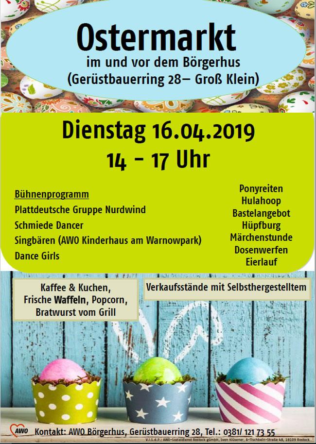 Ostermarkt im Börgerhus 2019