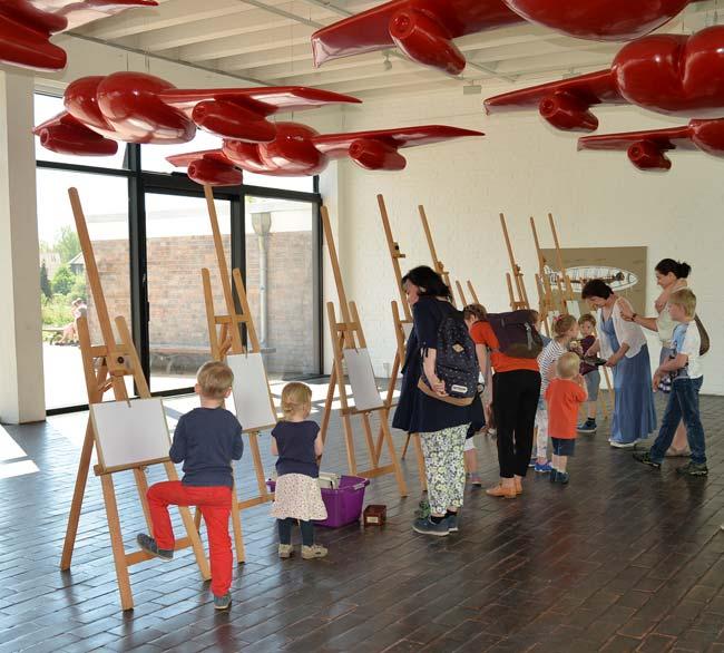 Kinder-Kunst-Club in der Kunsthalle Rostock