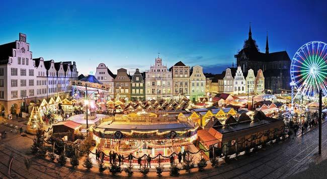 Rostocker Weihnachtsmarkt 2019