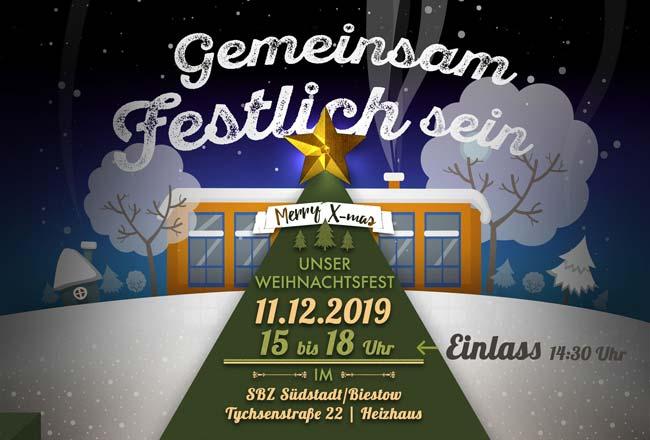 Weihnachtsfest im SBZ Südstadt/Biestow
