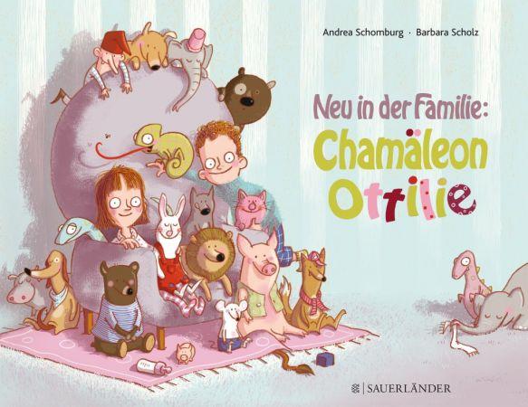 Neu in der Familie - Chamäleon Ottilie