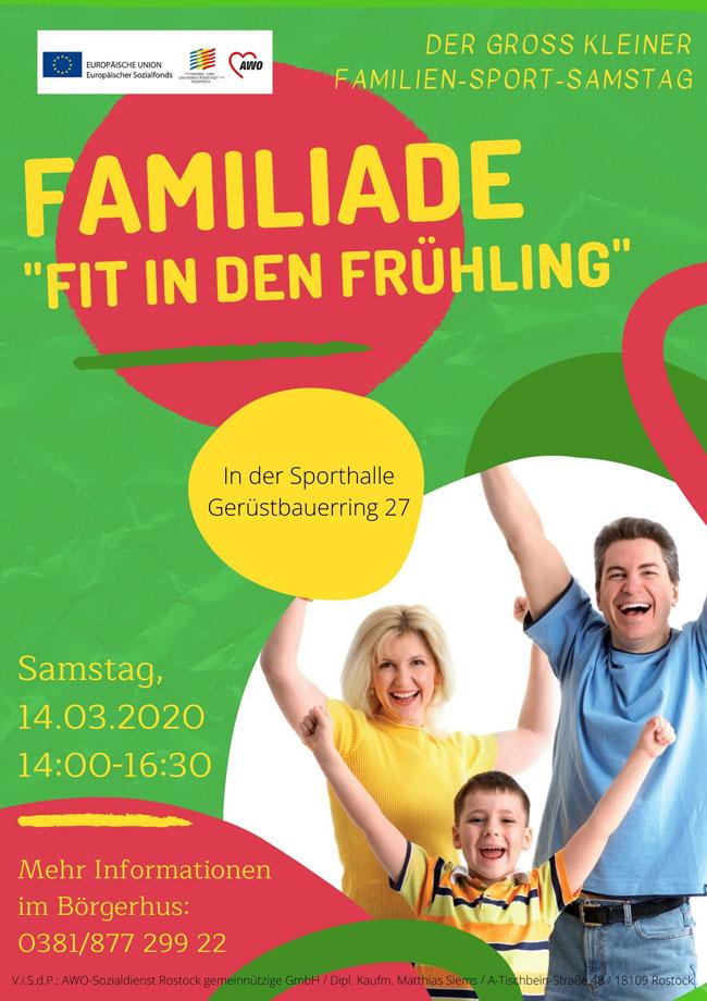 Familiade - das Sportfest für die ganze Familie