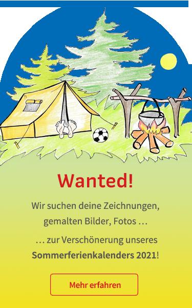 Wir suchen deine Zeichnungen, gemalten Bilder oder Fotos zur Verschönerung des Rostocker Sommerferienkalenders 2021