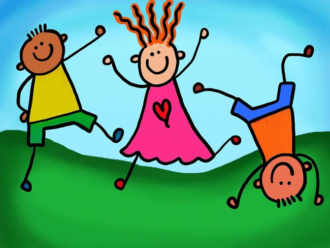 Kinderfest auf dem Toitenwinkler Stern